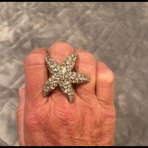 White House Black Market Jewelry - White House Black Market Starfish Ring
